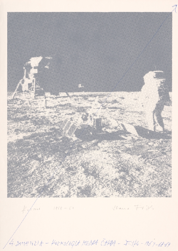 Stanislav Filko - 4. dimenzia - Kozmológia Modrá čakra - Filko - 1967-68-69