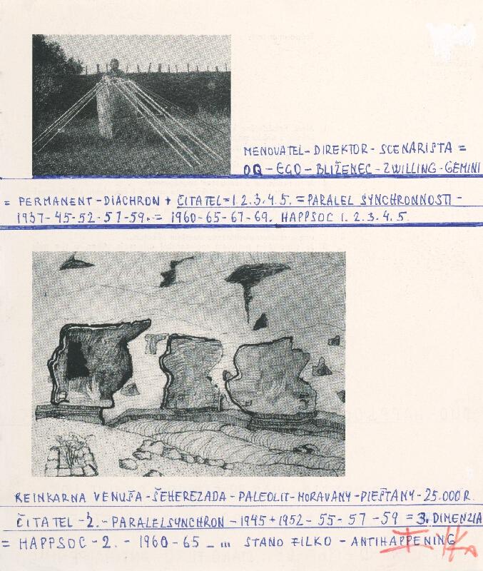 Stanislav Filko - HAPPSOC – 1. / HAPPSOC – 2. – 1960-65 – ... STANO FILKO - ANTIHAPPENING (časť názvu)