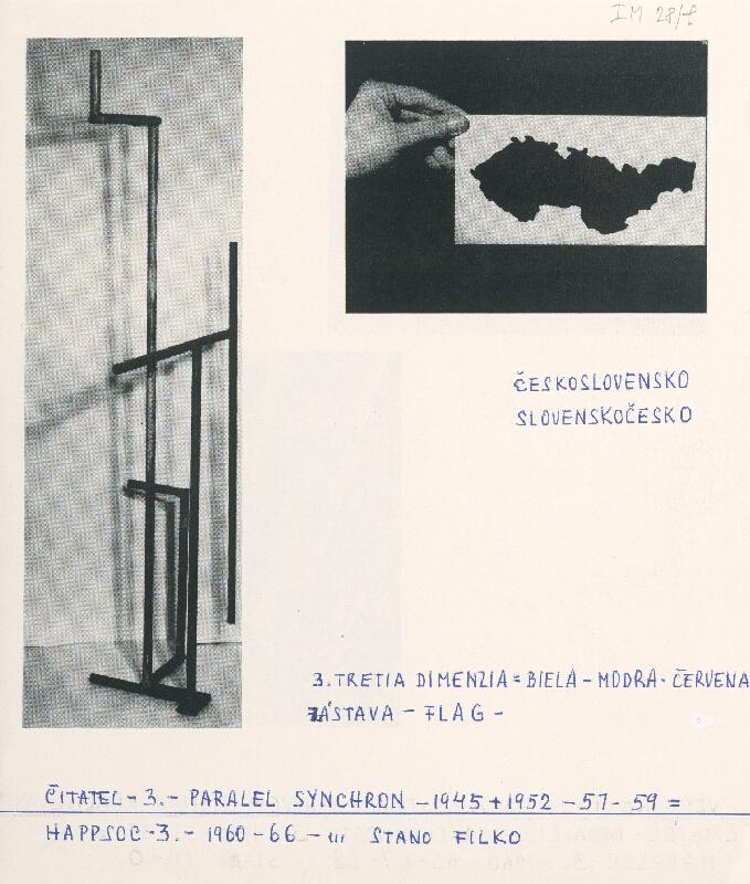 Stanislav Filko - HAPPSOC – 3. – 1960-66 – ... STANO FILKO / HAPPSOC – 3. – 1960 – 65 – 67 – 68. STANO FILKO (časť názvu)