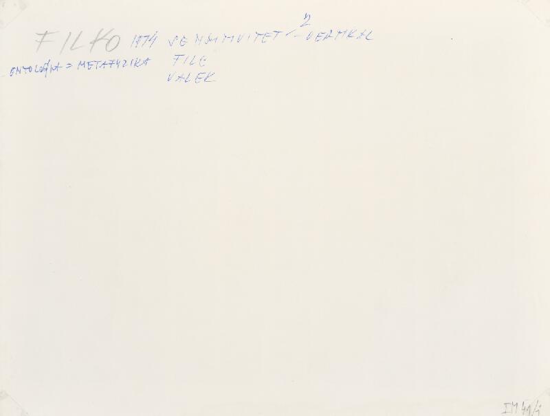 Stanislav Filko, Miloš  Laky, Ján  Zavarský - SENSITIVITET – 2 – VERTIKAL – FILC + VALEK (WHITE SPACE IN WHITE SPACE)