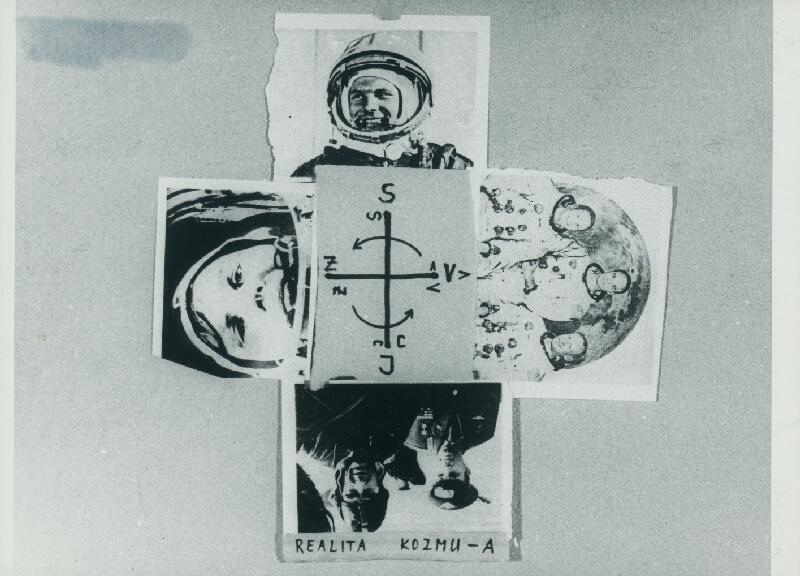 Stanislav Filko - 4. DIMENZIA – KOZMOLOGIA MODRA ČAKRA – IRONICKA MYSTIFIKACIA, 1952-1958-ŠUP – IDEA = SOVIET + USA, 1966 IDEA REAL