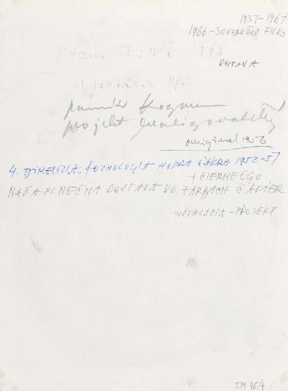 Stanislav Filko - Asociacie III., pomník Kozmu, projekt realizovateľný