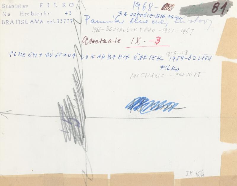 Stanislav Filko – Pomník slnečnej sústavy, Asociacie IX. – B, SLNEČNÁ SÚSTAVA VO FARBÁCH ČAKIER  (časť názvu)