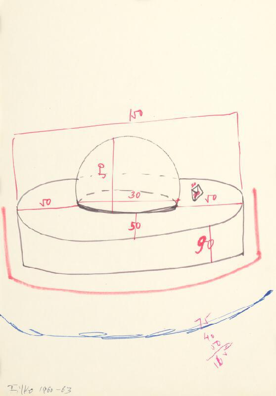 Stanislav Filko - Bez uvedenia názvu (KOSMOS, Sedadlá – Concept -  MODRE