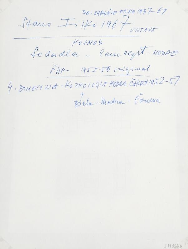 Stanislav Filko - KOSMOS Sedadlá – Concept -  MODRÉ