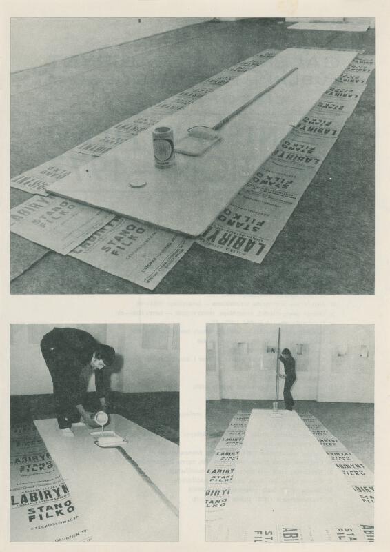 Stanislav Filko - Stanislav Filko: EMOTION –1977 (kat. vyd. Galeria LDK Labirynt, Lublin)