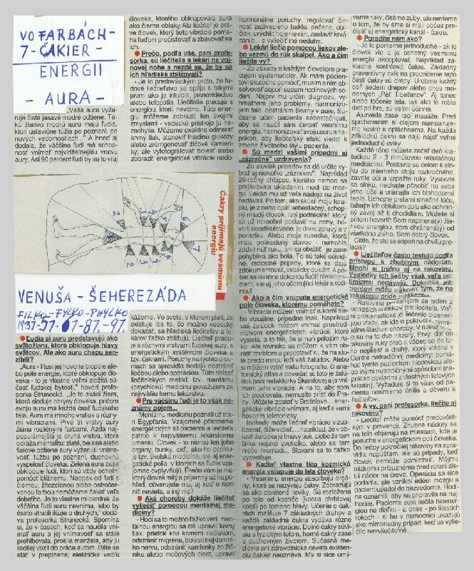 Stanislav Filko - VO FARBÁCH 7 ČAKIER – ENERGII – AURA  (teoretické poznámky k systému čakier)