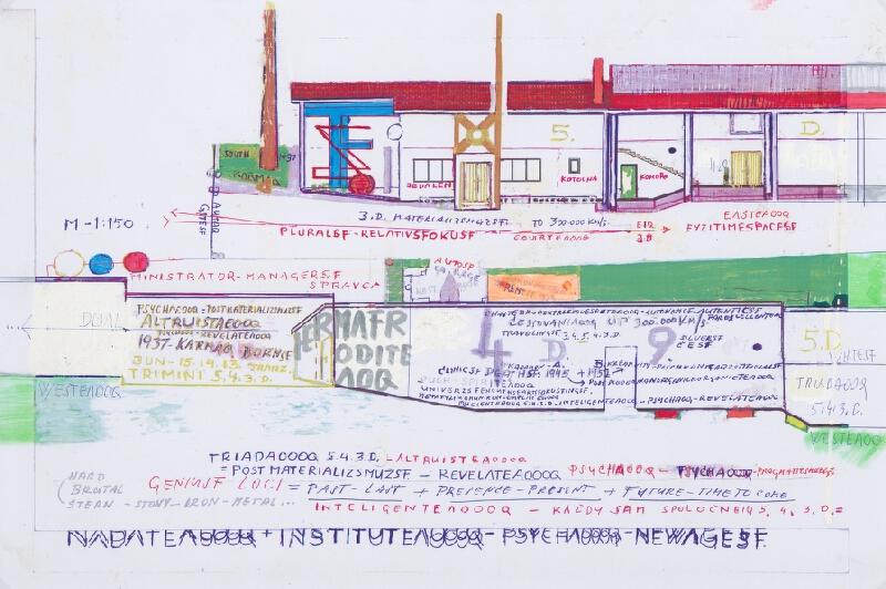 Stanislav Filko - Bez uvedenia názvu (projektart Noemova Archa pre Veľkú Hradnú)