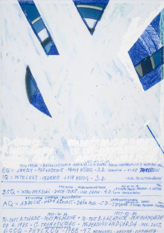 Stanislav Filko - Bez uvedenia názvu  (UŽ NIEQ – TRIADA SF 5.4.3.D. = 1937 – 84 - TEAOOQ)