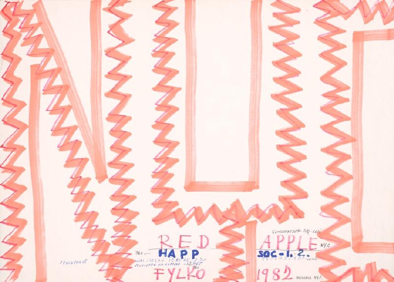 Stanislav Filko - NYC (RED APPLE – HAPP SOC – 1. – 2. – FYLKO 1982 (časť názvu)