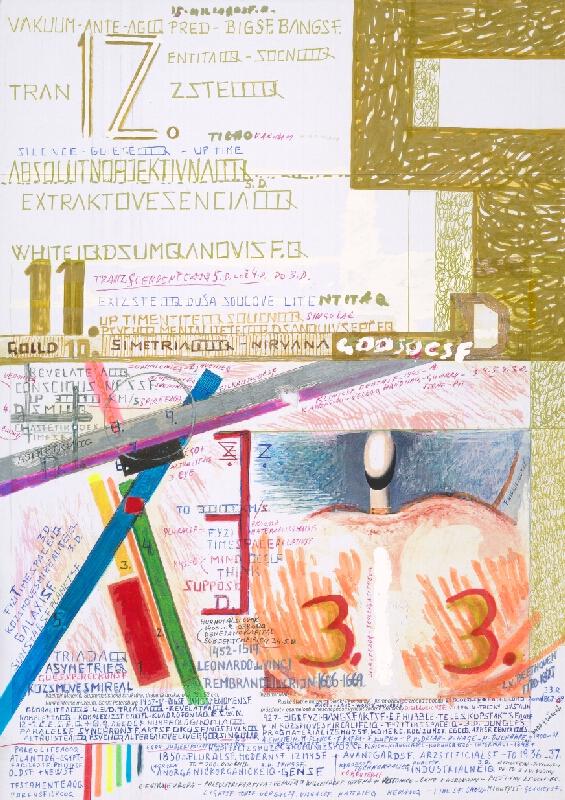 Stanislav Filko - Bez uvedenia názvu (PRED – ANTE – AGO – GLOBAL – KAŽDYM BIGSF BANGSF + VIAC KOZSMOVESMIROV – FYZI TIMESPACEIQ – 3.D....)