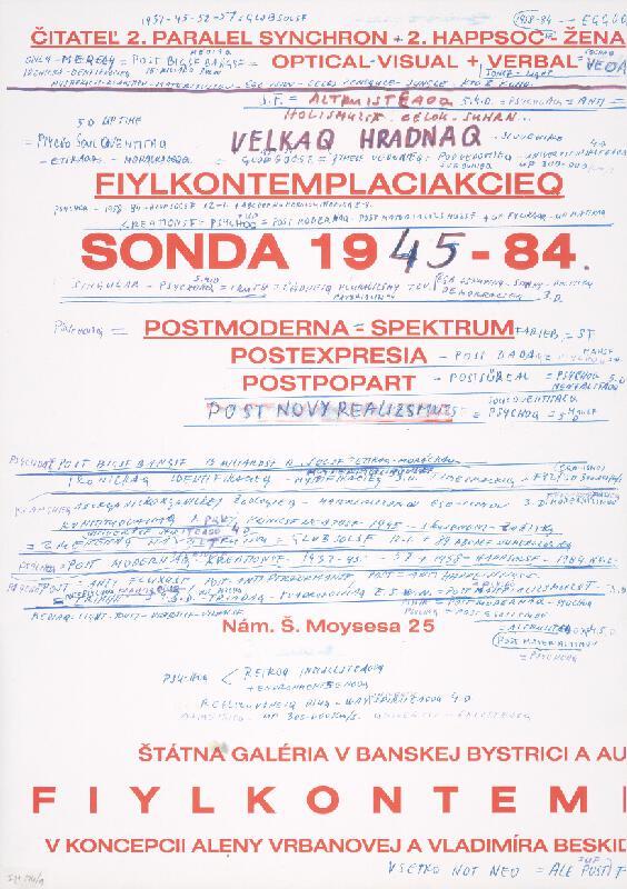 Stanislav Filko - Bez uvedenia názvu (S. FILKO 1937-77, S. FYLKO 1978-87, S. PHYLKO 1988-97, PHYS 1998-2037)