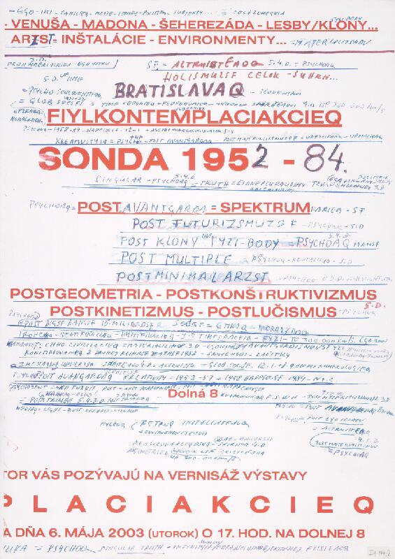 Stanislav Filko - Bez uvedenia názvu (FIYLKONTEMPLACIAKCIEQ)
