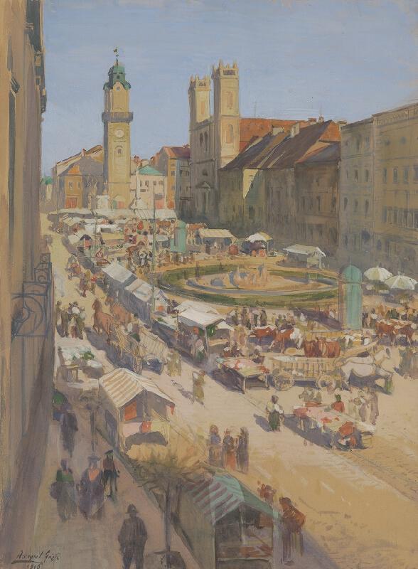 Gejza Angyal - Banskobystrický trh