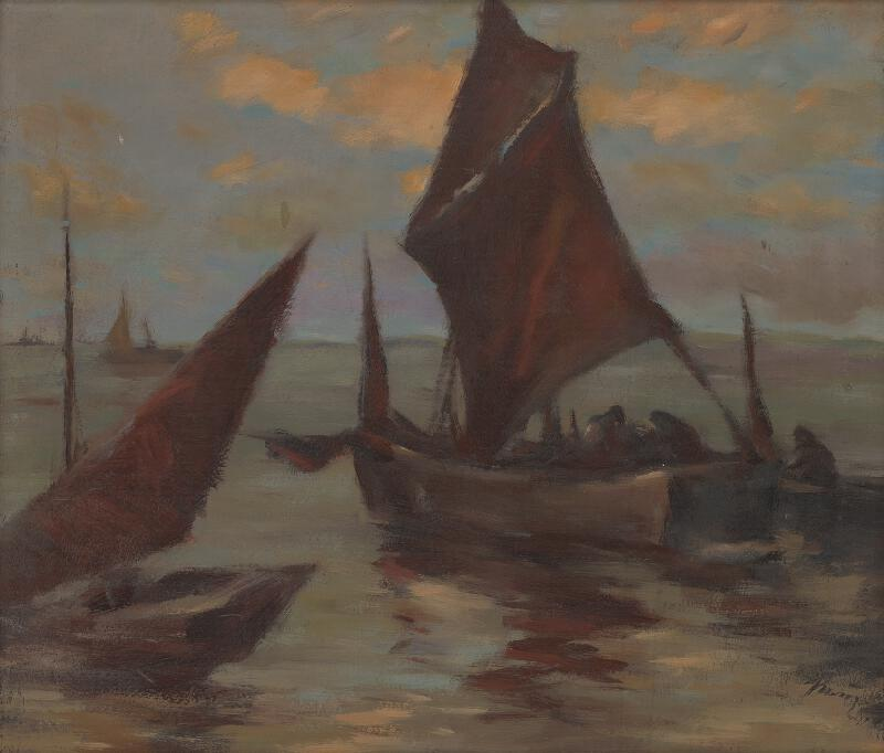 Viliam Ruttkay-Nedecký - Nočný rybolov