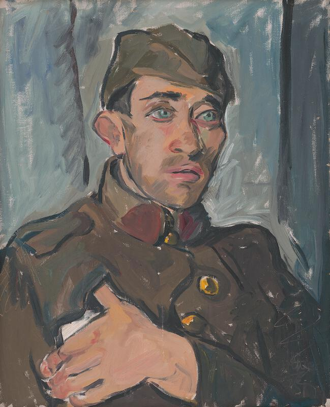 Imrich Weiner-Kráľ - Vojak