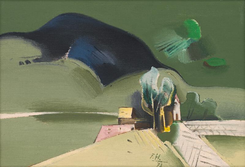 Ferdinand Hložník - Krajina pri Váhu