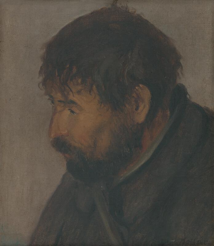 Jozef Kollár - Portrét baníka