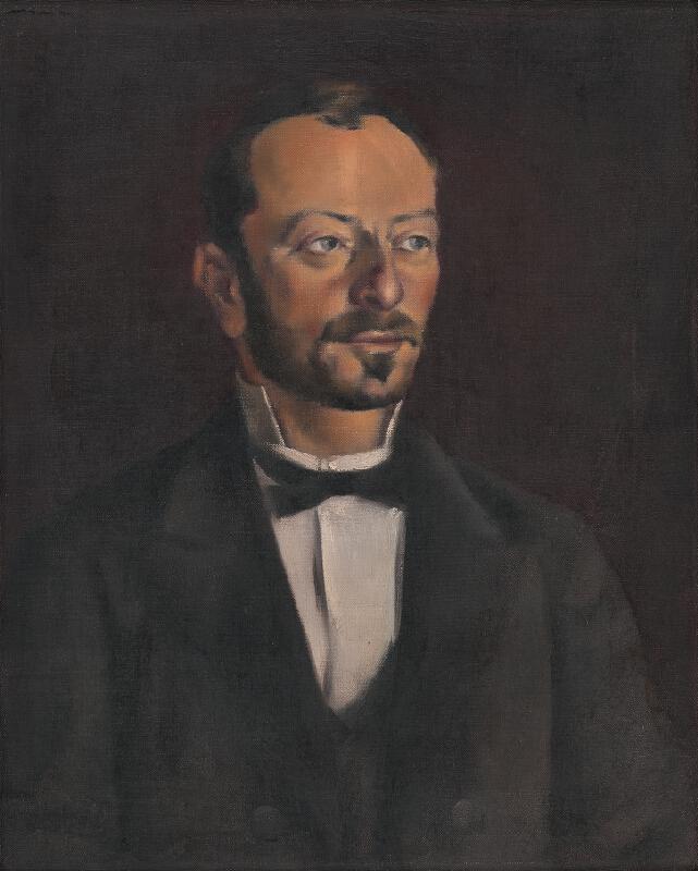 Viliam Ruttkay-Nedecký - Portrét pána Grüna
