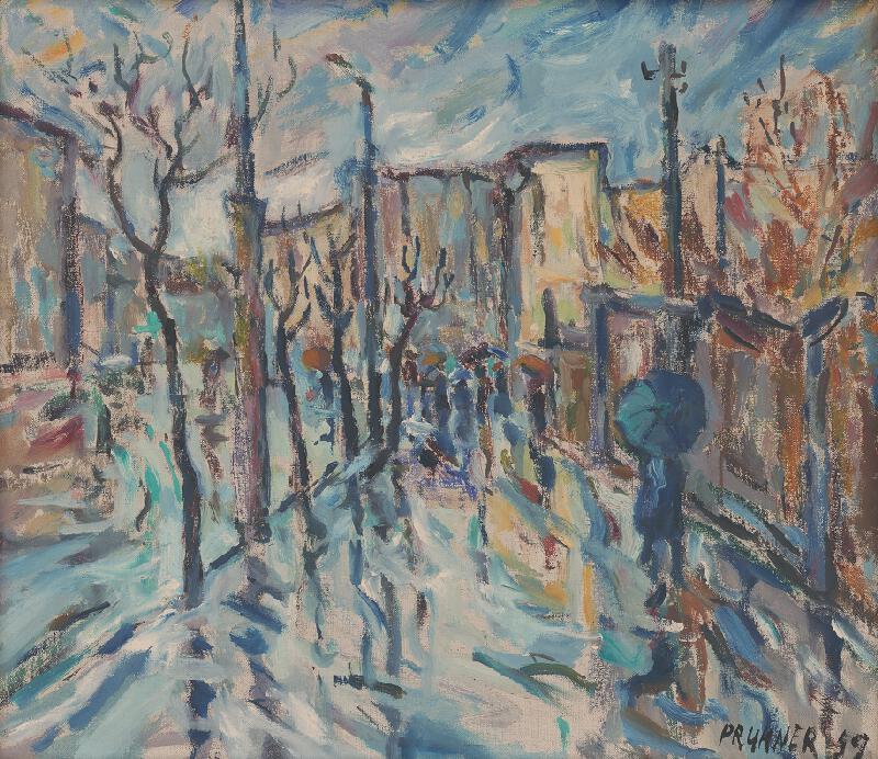 Štefan Prukner - Modrý dážď