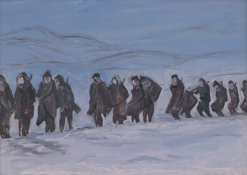 Eugen Nevan - Partizáni na pochode