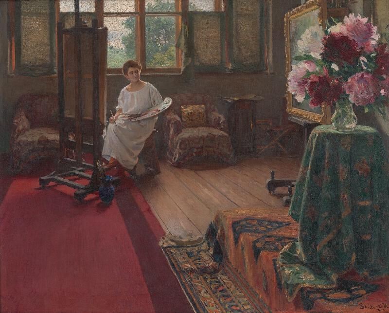 Dominik Skutecký - Maliarka kvetín