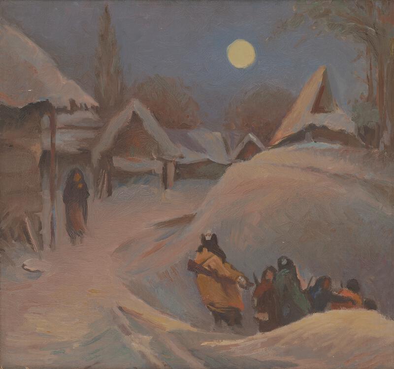 Viliam Chmel - Partizáni v dedine