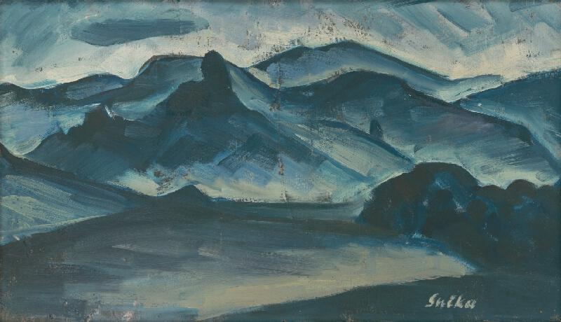Anton Sučka - Modrá krajina