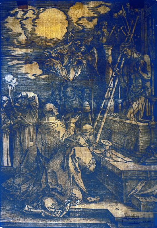 Albrecht Dürer - Omša sv. Gregora