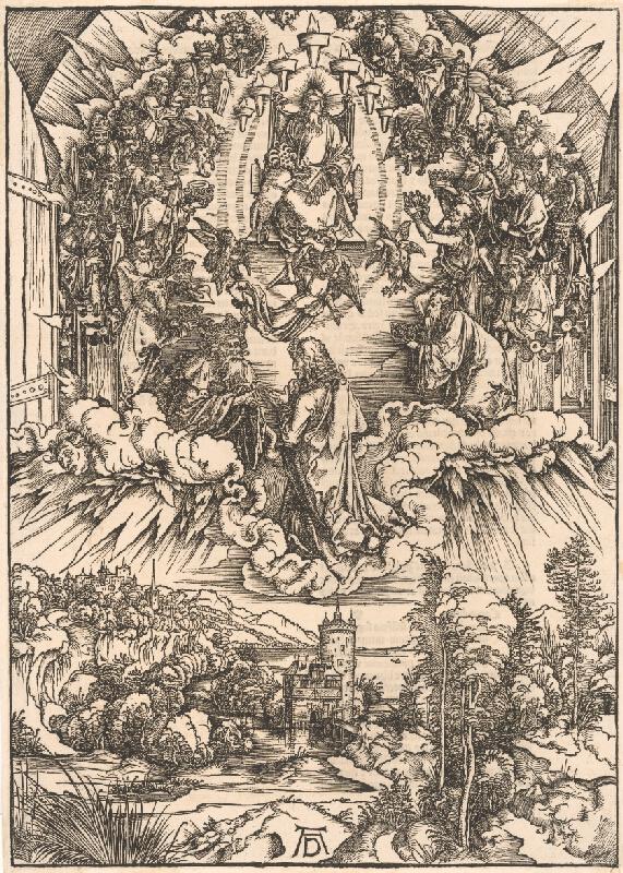 Albrecht Dürer – Sv. Ján pred Bohom Otcom