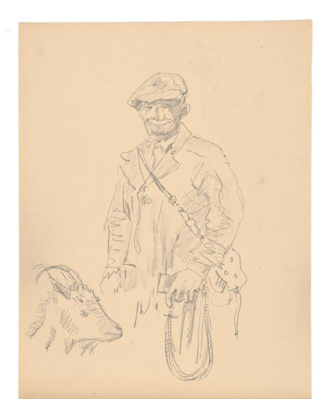 Arnold Peter Weisz-Kubínčan - Skicár (20 listov)