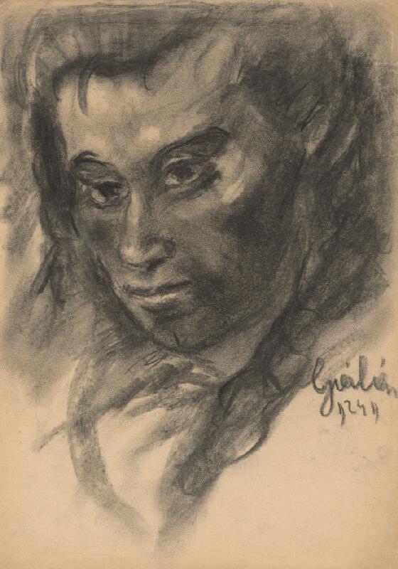 Július Flache - Hlava ženy II.