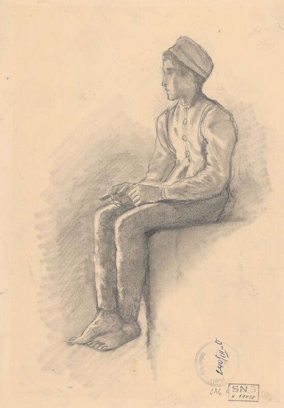 Ladislav Mednyánszky - Sediaci paholok