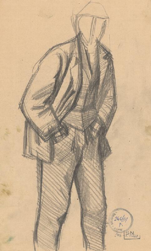 Ladislav Mednyánszky - Figurálne štúdie 81.