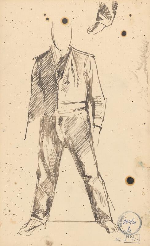Ladislav Mednyánszky - Figurálne štúdie 92.