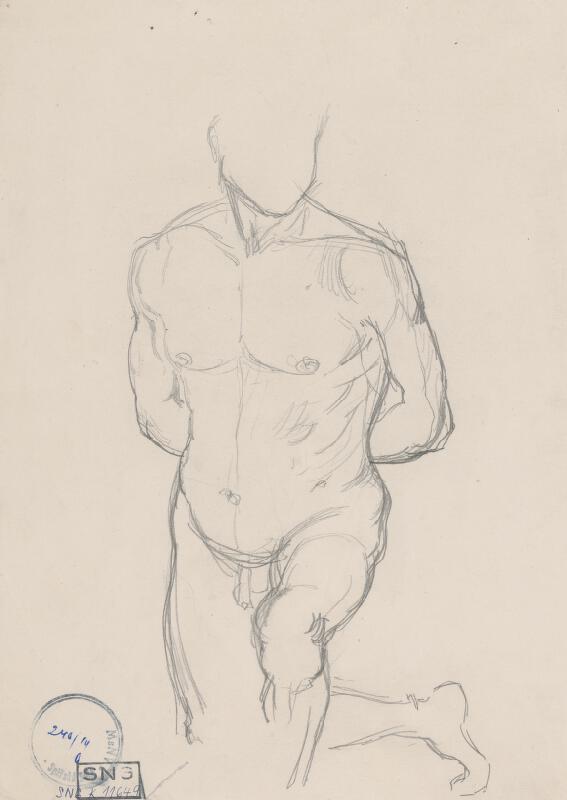 Ladislav Mednyánszky - Figurálne štúdie 462