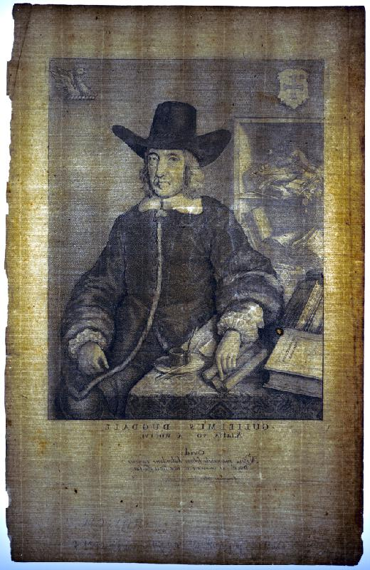 Václav Hollar - Portrét Guglielma Dugdaleho