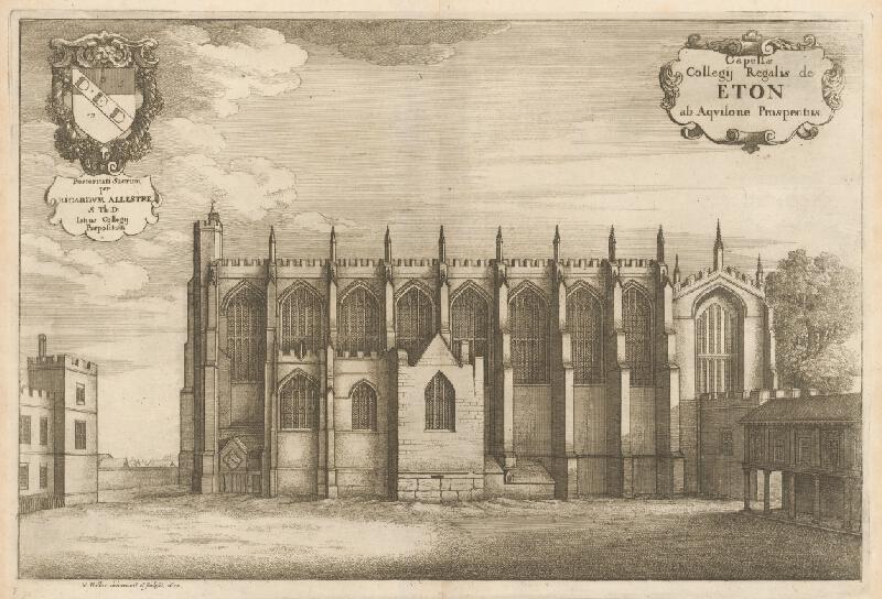 Václav Hollar – Kaplnka Kráľovského kolégia v Etone