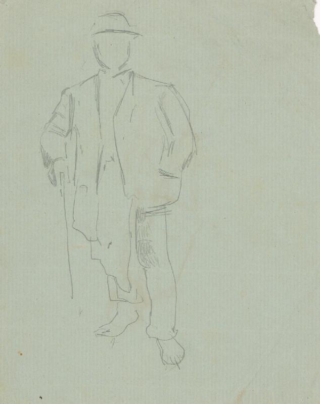 Ladislav Mednyánszky - Figurálne štúdie 123.