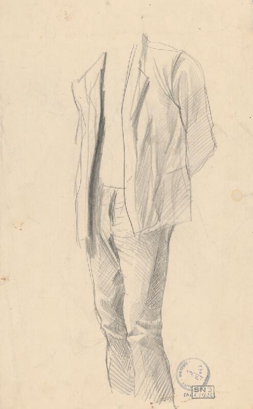 Ladislav Mednyánszky - Figurálne štúdie 134.