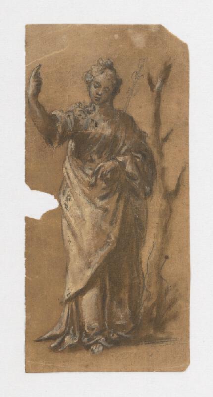 Stredoeurópsky maliar z 18. storočia - Svätica