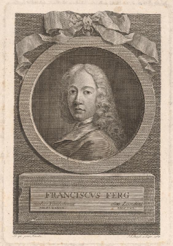 Johann Friedrich Bause – Portrét Franza Ferga