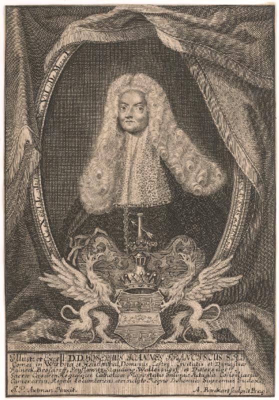 Anton Birkhart - Podobizeň grófa Jozefa Wrbnu