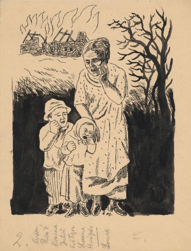 Štefan Bednár – Vdova a siroty