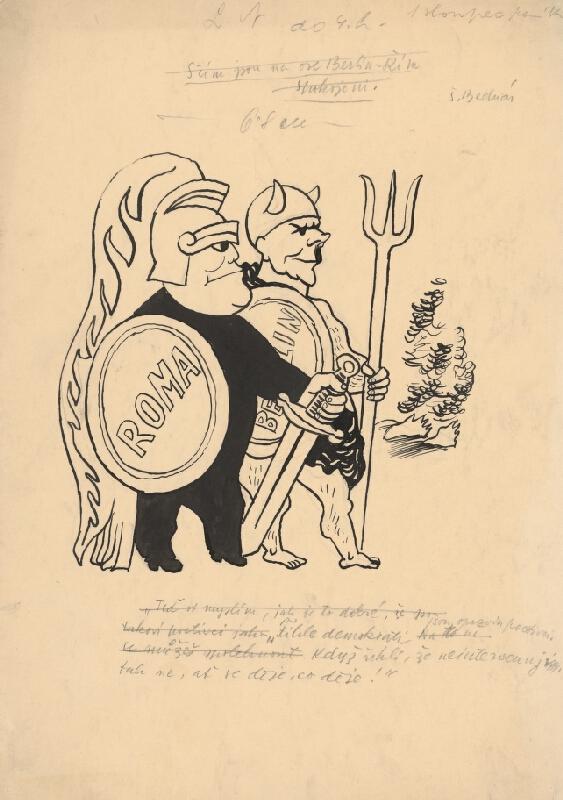 Štefan Bednár - Antickí poľovníci Mussolini a Hitler