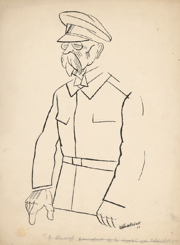 Štefan Bednár – T.G. Masaryk, 1934, Slovenská národná galéria