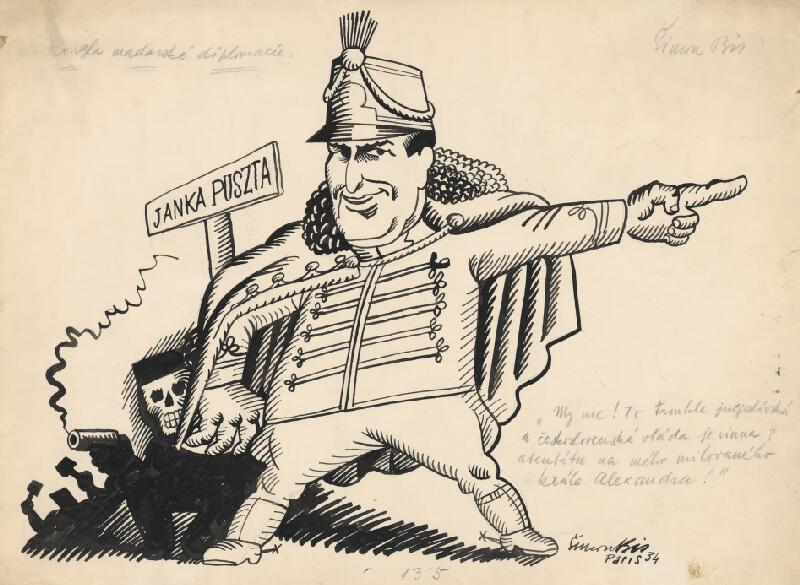 Štefan Bednár - Kúzla maďarskej diplomacie