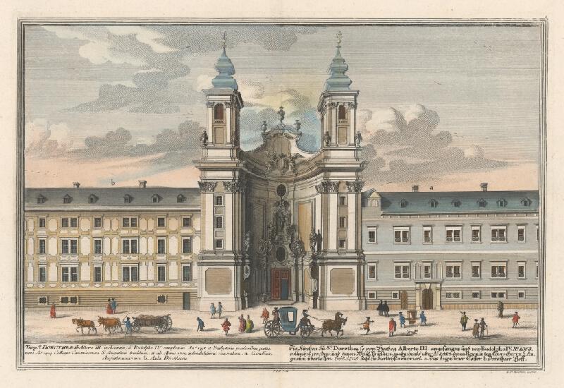 Salomon Kleiner, Georg Daniel  Heumann - Kostol sv. Doroty vo Viedni