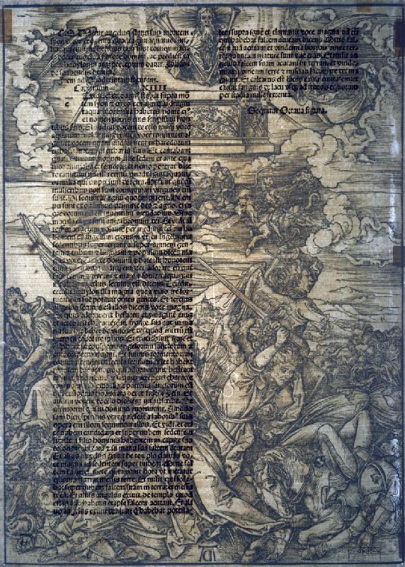 Albrecht Dürer - Boj anjelov