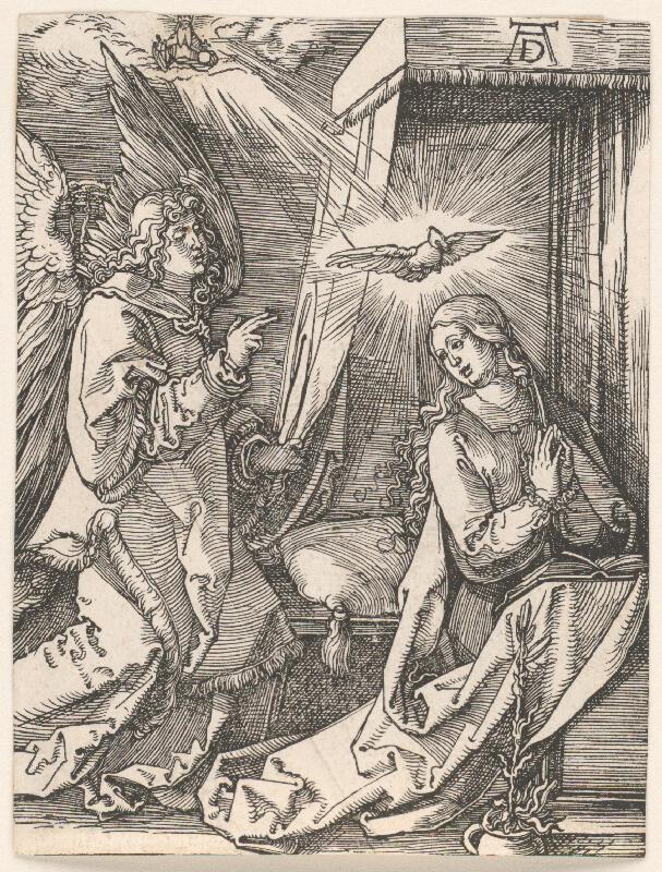 Albrecht Dürer - Zvestovanie